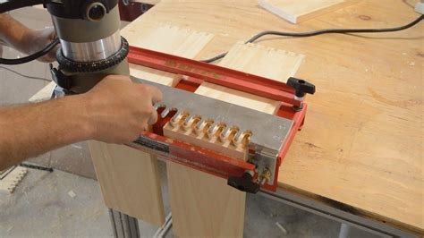 mcls woodworking the mlcs dovetail jig how to use it