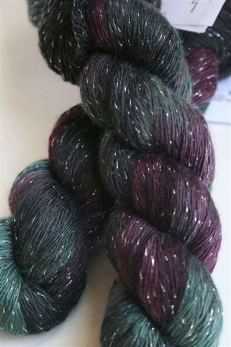 glitter yarn knitting glitter yarn in h17 silver from artyarns