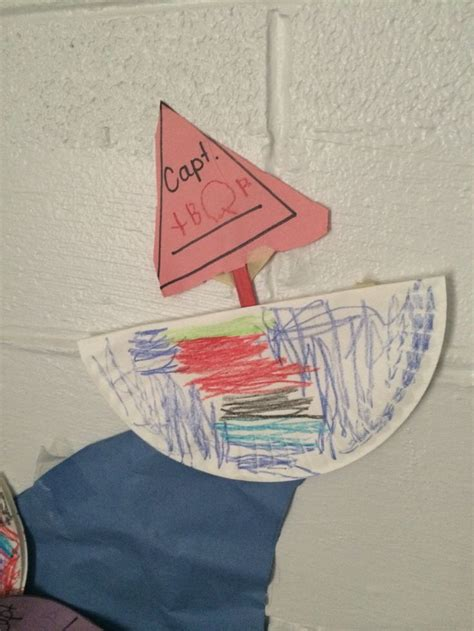 paper boat craft for preschoolers paper plate sail boats preschool crafts chronicles of a
