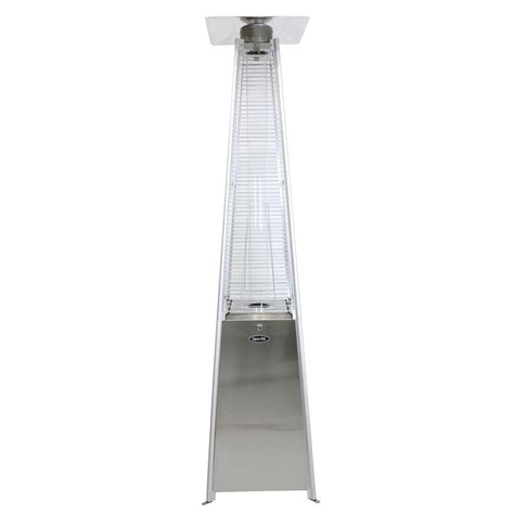 heat focusing patio heater mirage 38 200 btu bronze heat focusing propane gas patio
