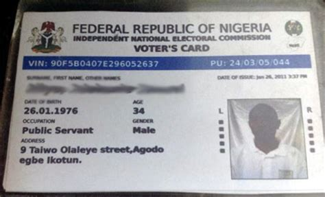 how to make voter card inec begins printing of 40m permanent voters cards jega