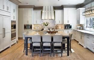kitchen with island images 40 kitchen island designs ideas design trends
