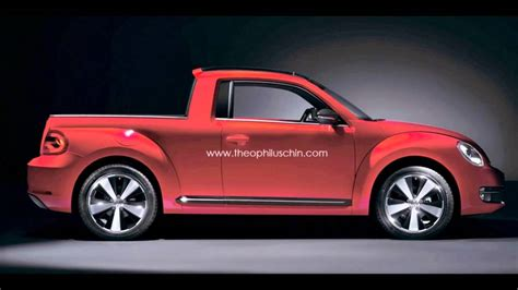 New Volkswagen Truck by Volkswagen New Beetle Rendering