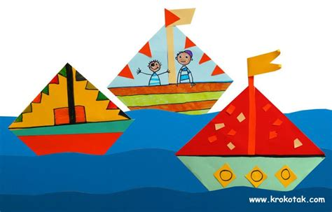 origami arts and crafts origami boats and craft