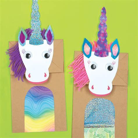 unicorn crafts for magical unicorns paper bag craft kit e me 3