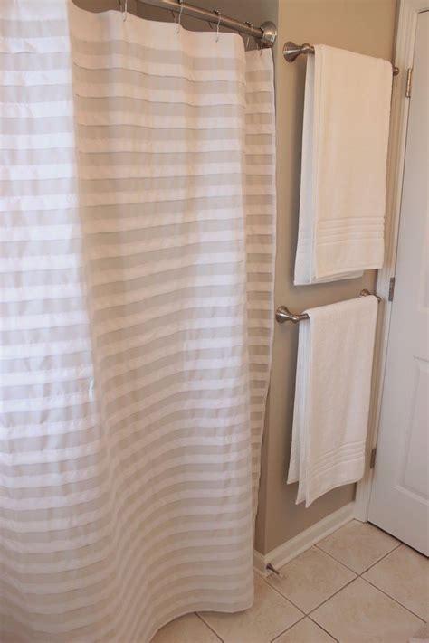 Bathroom Towel Rack Ideas best 25 bathroom towel bars ideas on pinterest towel