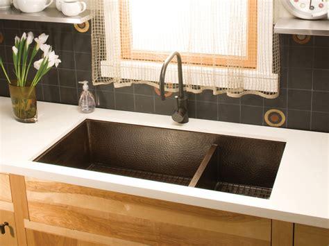 kitchen towel bar sink copper kitchen sinks