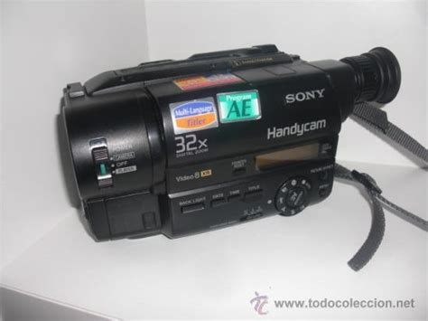 camara de video 8mm sony handycam camara de video cintas 8 mm como comprar
