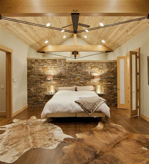 wooden wall bedroom 25 bedrooms that celebrate the textural brilliance of