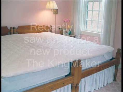 2 beds equal the sleep shop tests the king maker bed coupler