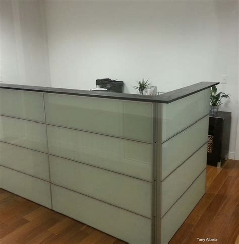 reception desk ikea ikea hack converted 12 framsta panels into reception counter wood top is 8 quot pine painted to