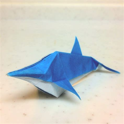 origami dolphin dolphin crafts