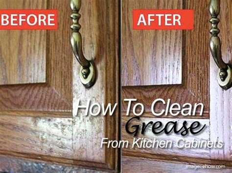 how to clean grease wood cabinets how to clean grease from your kitchen cabinets