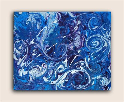 acrylic paint on canvas go with the flow fluid acrylic painting on canvas