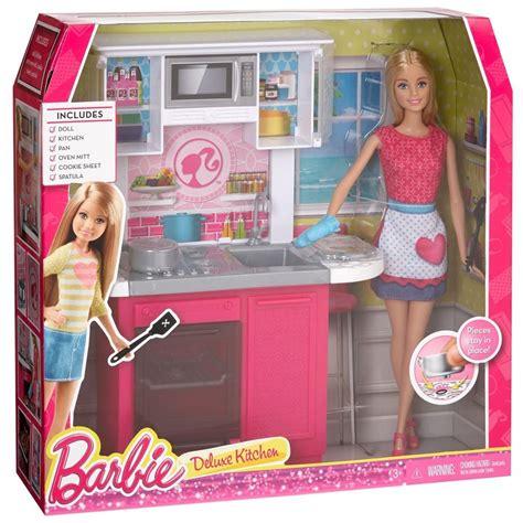 juegos de barbie cocina barbie cocina lujo mu 241 eca ni 241 as juguete comida muebles