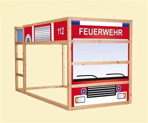 Aufkleber Entfernen Von Möbeln by Aufkleber F 252 R Das Hochbett Ikea Kura Quot Feuerwehrauto
