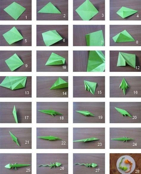 origami gecko origami lizard origami