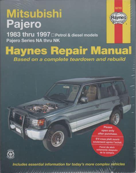 manual repair autos 1993 mitsubishi pajero engine control service manual free 1997 mitsubishi montero engine repair manual service manual transmission