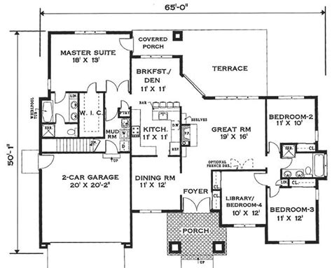one story house blueprints best 25 one story houses ideas on house plans one story one floor house plans and