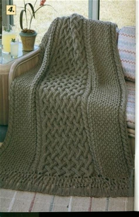 reversible afghan knitting pattern 1000 images about cable crochet on cable