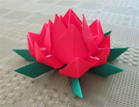 origami lotus blossom lotus flower origami 28 images origami lotus flower