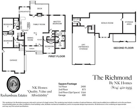 richmond homes floor plans richmond american homes floor plans