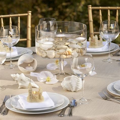 decoration ideas for table settings sea inspired table setting and ideas for your themed