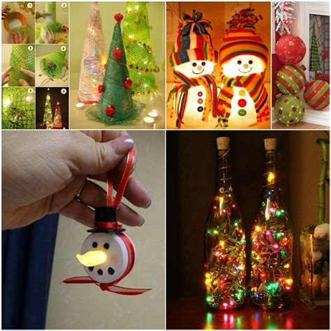 decorations that you can make at home 13 lighted decorations that you can make