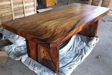 slab dining table live edge dining table reclaimed solid slab acacia wood