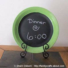 diy chalkboard plate 1000 images about repurposed quot plates quot on