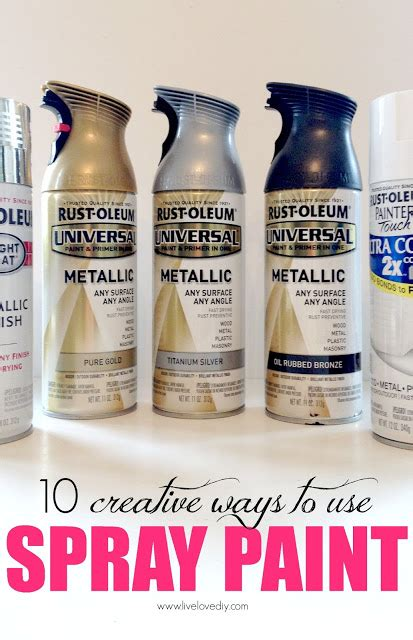 spray paint uses paint archives diy crafts