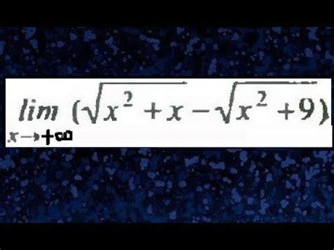 resta de raices cuadradas limites al infinito de raices cuadradas limite al