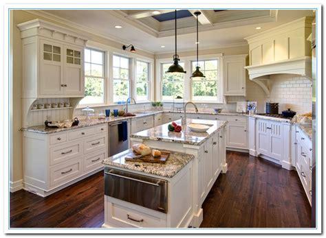 granite countertops for white kitchen cabinets white cabinets with granite countertops home and cabinet