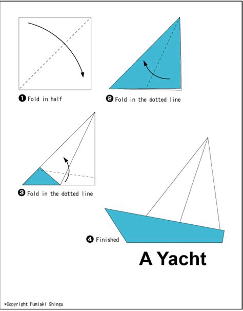 simple origami boat yacht easy origami for