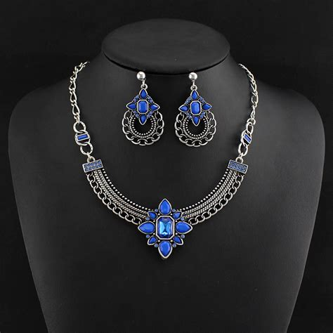 cheap for jewelry top quality cheap fashion jewelry set for blue