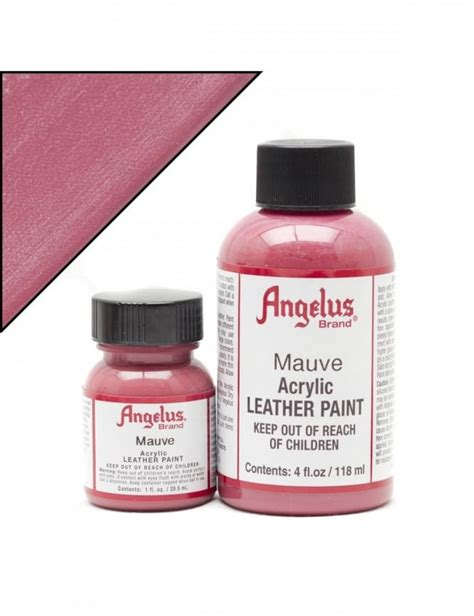angelus paint timberland angelus dyes paint mauve 1oz leather paint angelus