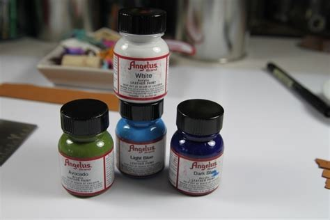 angelus paint tutorial pin by pauline angelusnoir on painting staining dyeing