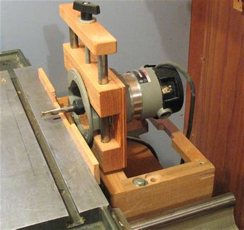 made by woodworking home made mortising machine