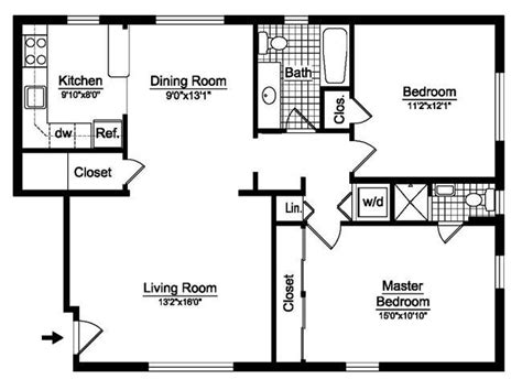 2 bedroom house floor plans 25 best ideas about 2 bedroom house plans on