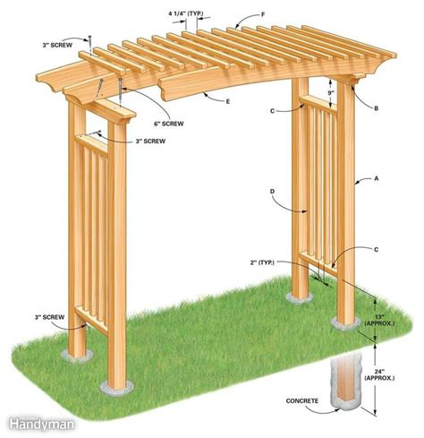 garden arbor woodworking plans 89 best images about arbor plans on gardens