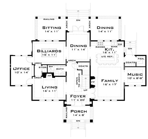 large family floor plans large family floor plans four bedroom large family house