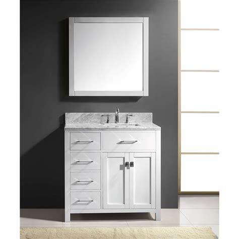 carolina bathroom vanities caroline parkway 36 quot single bathroom vanity cabinet set in