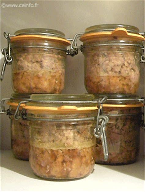 pate de lapin au cognac sterilisation en bocaux