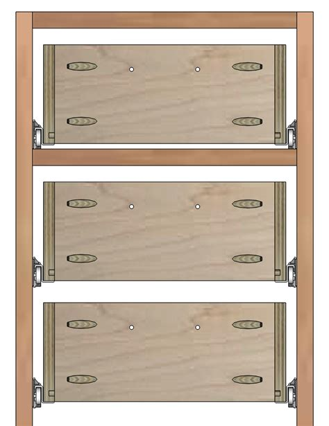 how to build a cabinet drawer how to build drawer boxes