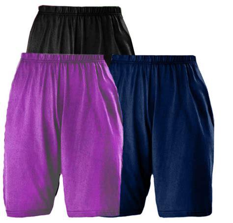 plus size knit shorts sold out sale many colors plus size cotton knit elastic