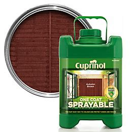 cuprinol 5 year ducksback harvest brown shed fence treatment 5l departments diy at b q