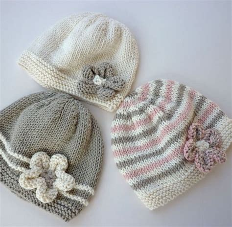 easy to knit baby hat baby hat pattern pdf knitting pattern baby beanie hat