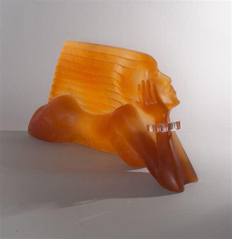 daum dan daley le vent sculpture en p 226 te de verre expertisez