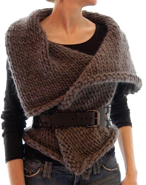 knitting pattern for waistcoat knit 1 la magnum reversible vest wrap
