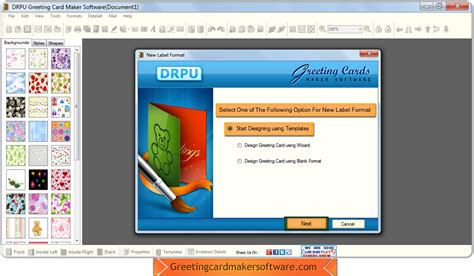 greeting card software free greeting card maker software screenshots helps to design